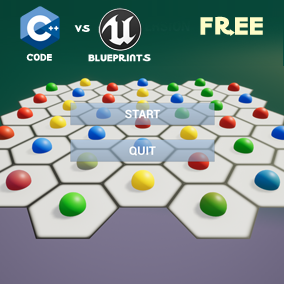 HexBlocks – Code vs Blueprints