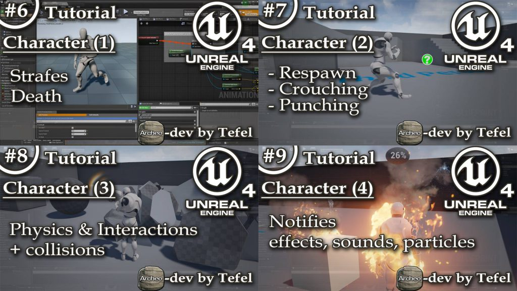 Unreal Engine 4 Tutorials