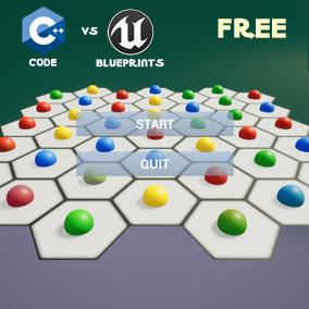 HexBlocks – Code vs Blueprints