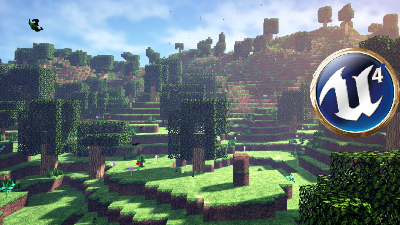 Voxel Sandbox toolkit for Unreal Engine 4, UE4, unreal, epic games