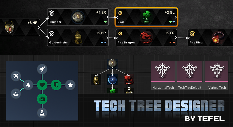 Tech Tree Designer in the Marketplace
